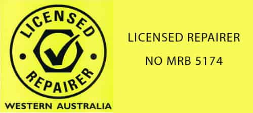 Licensed repairer WA permit number